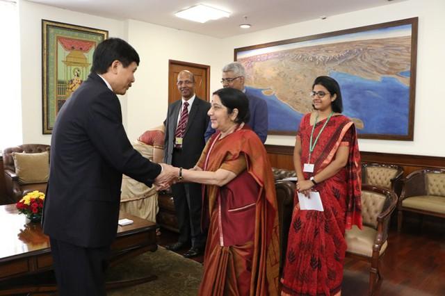 Họp tham khảo chính trị lần thứ 10 và đối thoại chiến lược lần thứ 7 Việt Nam - Ấn Độ - Ảnh 3.
