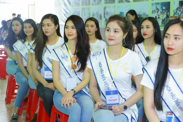 Thí sinh Hoa hậu Biển Việt Nam toàn cầu 2018 lan tỏa tinh thần tương thân tương ái - Ảnh 5.