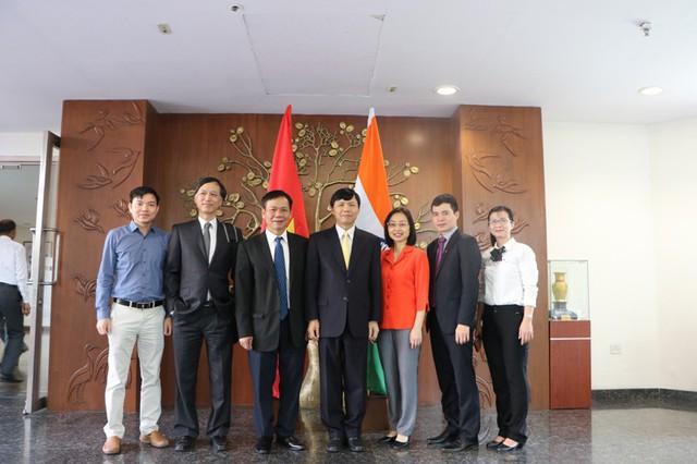Họp tham khảo chính trị lần thứ 10 và đối thoại chiến lược lần thứ 7 Việt Nam - Ấn Độ - Ảnh 4.