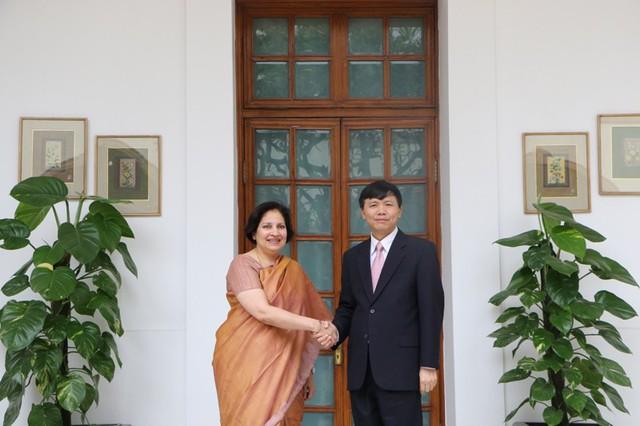 Họp tham khảo chính trị lần thứ 10 và đối thoại chiến lược lần thứ 7 Việt Nam - Ấn Độ - Ảnh 1.