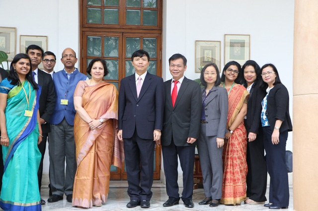 Họp tham khảo chính trị lần thứ 10 và đối thoại chiến lược lần thứ 7 Việt Nam - Ấn Độ - Ảnh 2.