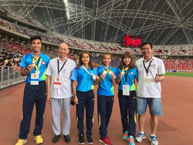 Nguyễn Thị Oanh giành thêm 1 HCV, Điền kinh Việt Nam thắng lớn tại Singapore mở rộng 2018 - Ảnh 2.