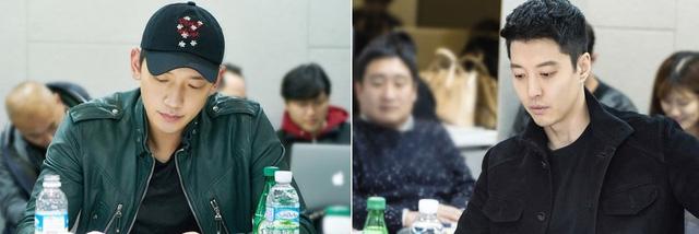 Rain và Lee Dong Gun trở thành những đàn ông thù hận trong phim mới - Ảnh 1.