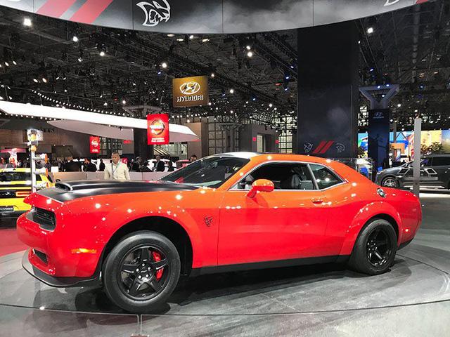 Những mẫu xe ấn tượng tại Triển lãm ô tô New York 2018 - Ảnh 2.