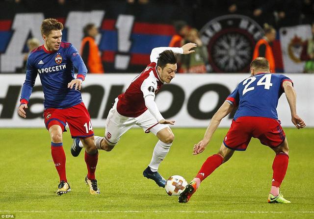 Kết quả tứ kết lượt về Europa League: Arsenal thoát hiểm, Marseille thắng ấn tượng - Ảnh 1.