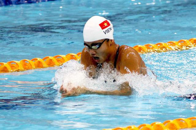 Kình ngư Ánh Viên chiến thắng tại Pro Swim Series - Ảnh 1.