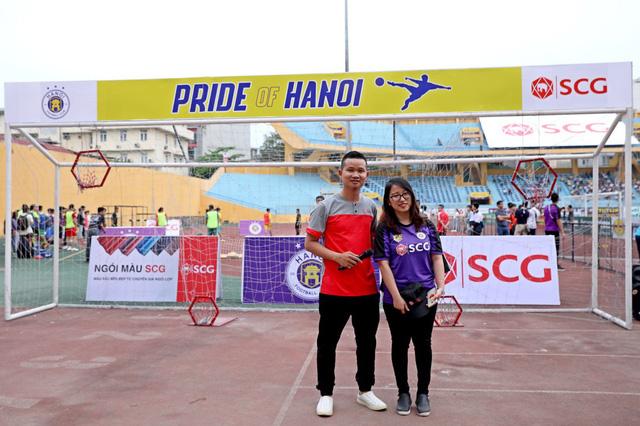 Giải Bóng đá Đường phố SCG được tổ chức ngay trước các trận đấu của CLB Hà Nội tại SVĐ Hàng Đẫy - Ảnh 3.