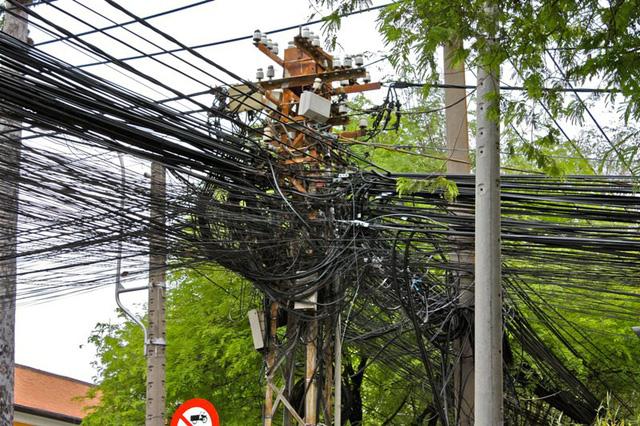 Mạng nhện dây điện ở một số thành phố châu Á - Ảnh 3.
