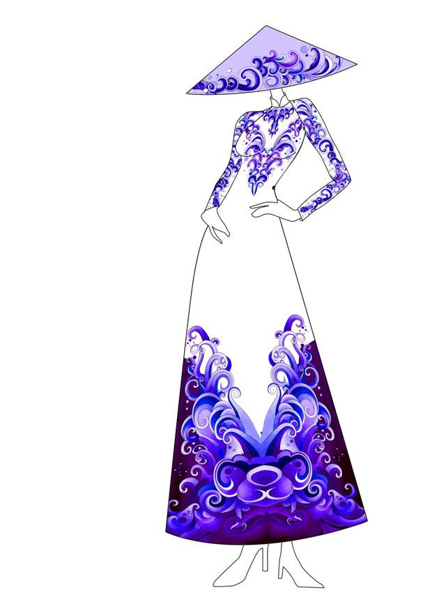 Hé lộ thiết kế áo dài đặc biệt cho chung kết Hoa hậu Biển Việt Nam toàn cầu 2018 - Ảnh 4.