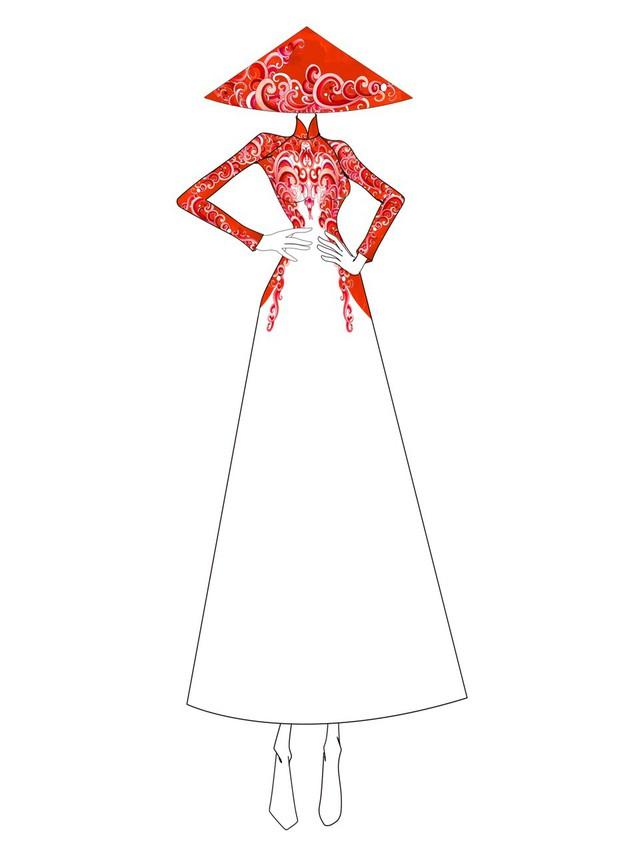 Hé lộ thiết kế áo dài đặc biệt cho chung kết Hoa hậu Biển Việt Nam toàn cầu 2018 - Ảnh 3.