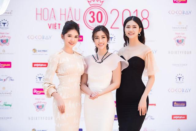 Đỗ Mỹ Linh đọ sắc cùng 2 Á hậu Thanh Tú, Thuỳ Dung - Ảnh 1.
