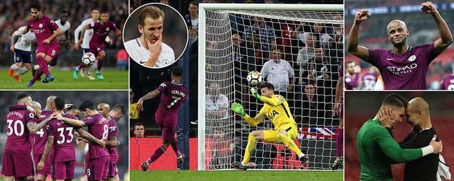 Kết quả bóng đá châu Âu rạng sáng 15/4: Tottenham 1-3 Man City, Liverpool 3-0 Bournemouth, Barca 2-1 Valencia... - Ảnh 1.