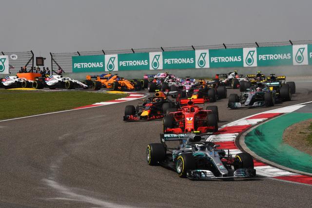 Đua xe F1: Daniel Ricciardo về nhất chặng đua tại Trung Quốc - Ảnh 1.