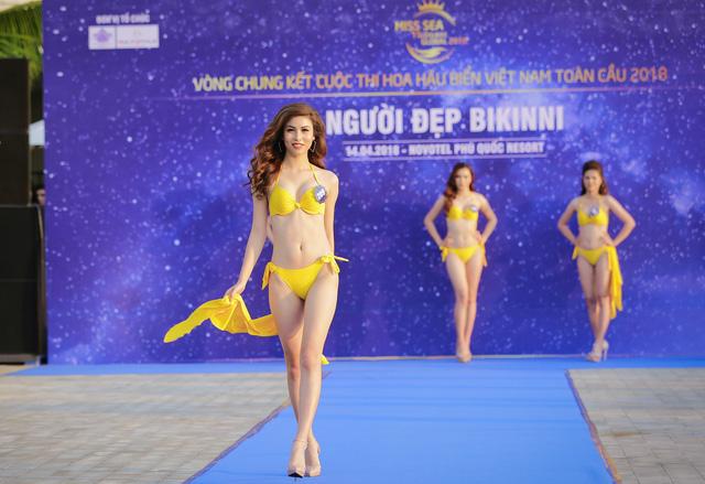 Top 40 Hoa hậu Biển Việt Nam toàn cầu 2018 nóng bỏng trong trang phục bikini, khoe tài năng đa dạng - Ảnh 2.