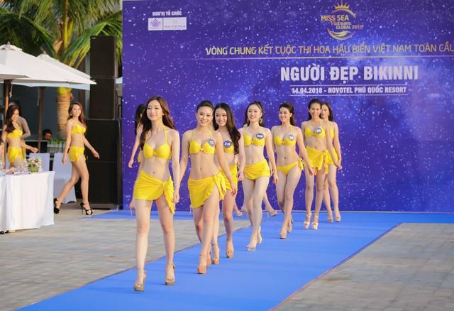 Top 40 Hoa hậu Biển Việt Nam toàn cầu 2018 nóng bỏng trong trang phục bikini, khoe tài năng đa dạng - Ảnh 6.