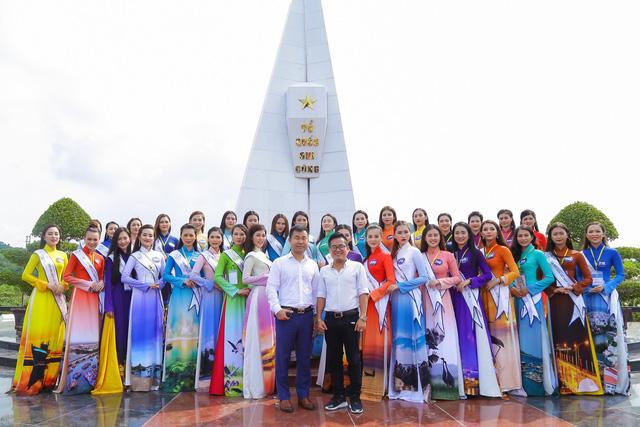 Thí sinh Hoa hậu Biển Việt Nam toàn cầu 2018 tri ân các anh hùng liệt sĩ tại Phú Quốc - Ảnh 9.