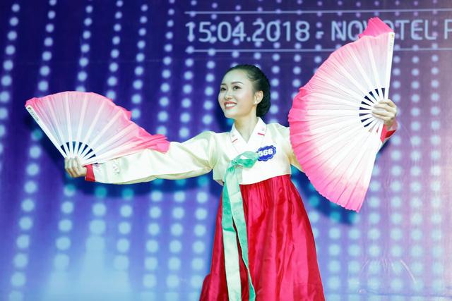 Top 40 Hoa hậu Biển Việt Nam toàn cầu 2018 nóng bỏng trong trang phục bikini, khoe tài năng đa dạng - Ảnh 8.