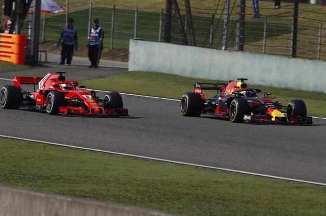 Đua xe F1: Daniel Ricciardo về nhất chặng đua tại Trung Quốc - Ảnh 3.