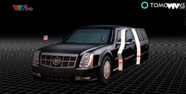 Siêu limousine của Tổng thống Mỹ Donald Trump - ảnh 2