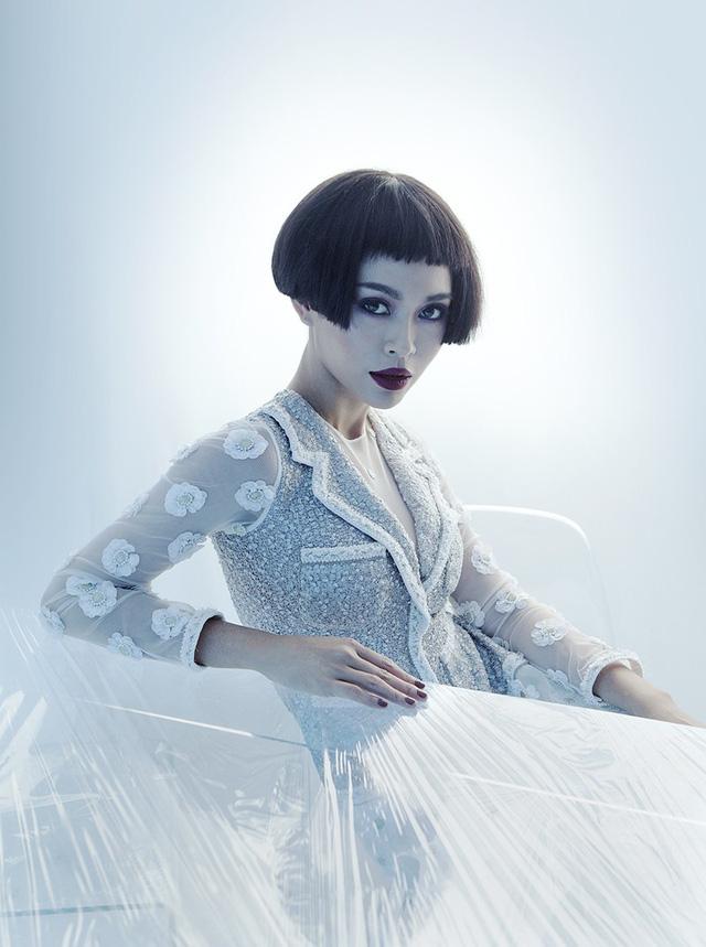 Bộ ba Hoa hậu Hoàn vũ Việt Nam 2017 ma mị trong bộ ảnh mới - Ảnh 3.