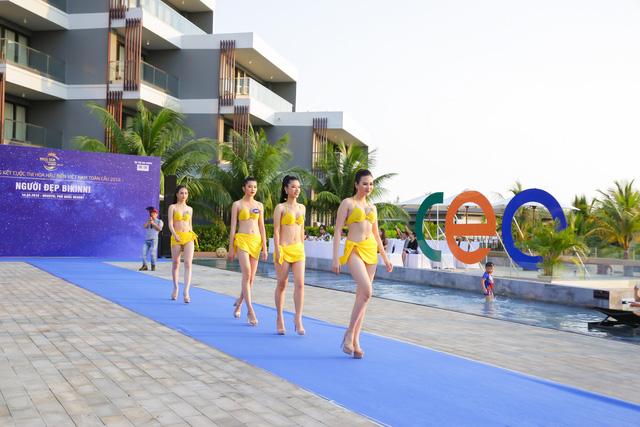 Top 40 Hoa hậu Biển Việt Nam toàn cầu 2018 nóng bỏng trong trang phục bikini, khoe tài năng đa dạng - Ảnh 5.