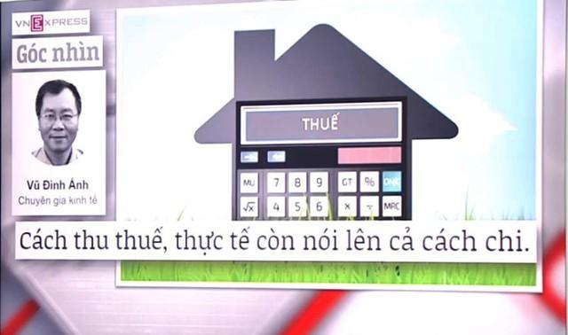 Đề xuất thuế tài sản tiếp tục làm nóng các mặt báo - Ảnh 3.