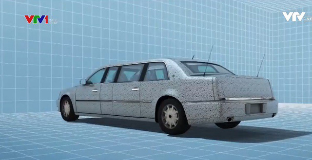 Siêu limousine của Tổng thống Mỹ Donald Trump - ảnh 1