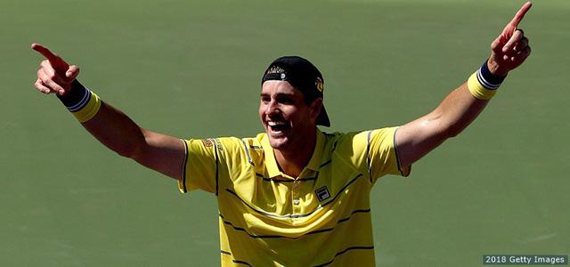 Chung kết Miami mở rộng 2018: Đánh bại Zverev, Isner giành chức vô địch - Ảnh 2.