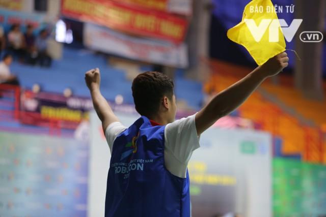 Robocon Việt Nam 2018: Nhiều kỷ lục được xác lập trong ngày thi đấu đầu tiên - Ảnh 18.