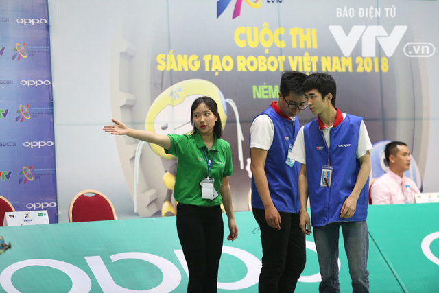 Robocon Việt Nam 2018: Nhiều kỷ lục được xác lập trong ngày thi đấu đầu tiên - Ảnh 19.