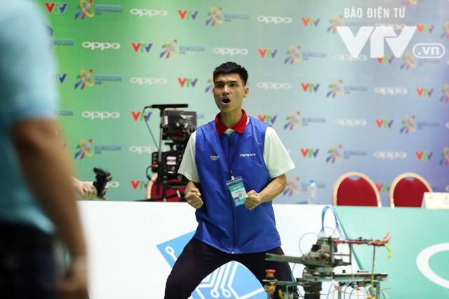 Robocon Việt Nam 2018: Nhiều kỷ lục được xác lập trong ngày thi đấu đầu tiên - Ảnh 21.