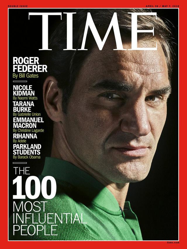Huyền thoại Roger Federer lọt top 100 nhân vật có ảnh hưởng nhất thế giới - Ảnh 1.