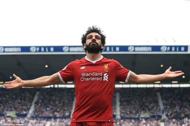 Ghi bàn 31, Salah sánh vai các kỷ lục gia Premier League - Ảnh 1.