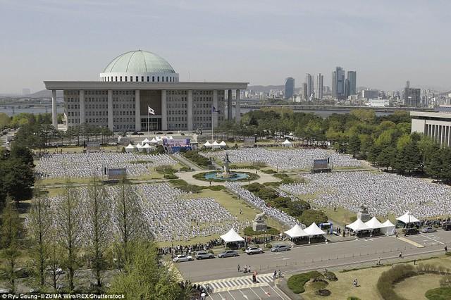 Hàn Quốc xác lập kỷ lục mới về số người tham gia trình diễn Taekwondo - Ảnh 6.