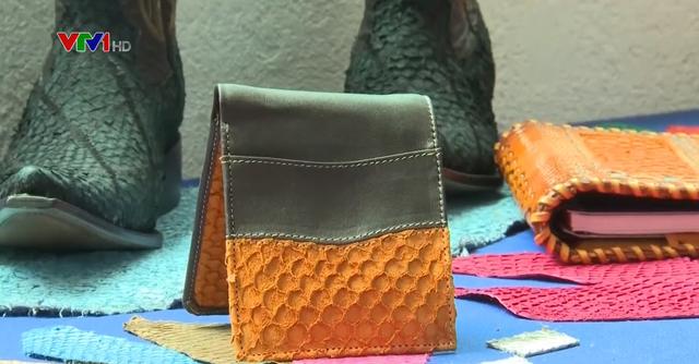 Làm giày từ da cá ở Mexico - Ảnh 2.