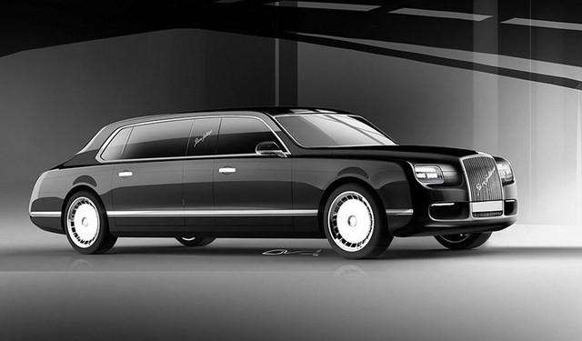 Khám phá limousine chống đạn mới Tổng thống Putin sắp hoàn thành - Ảnh 2.