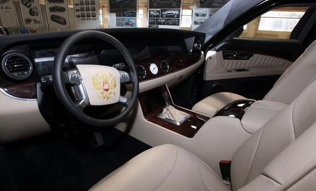 Khám phá limousine chống đạn mới Tổng thống Putin sắp hoàn thành - Ảnh 7.