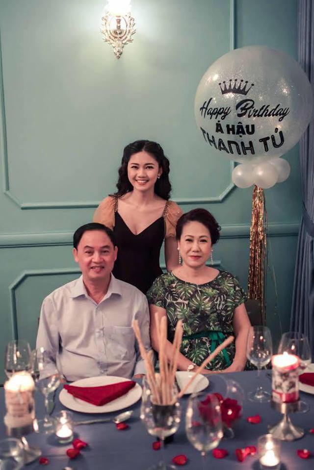 Sinh nhật ấm áp của Á hậu Ngô Thanh Tú - Ảnh 2.