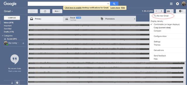 Bạn đã biết Google vừa ra mắt giao diện mới cho Gmail? - Ảnh 1.