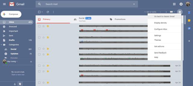 Bạn đã biết Google vừa ra mắt giao diện mới cho Gmail? - Ảnh 5.