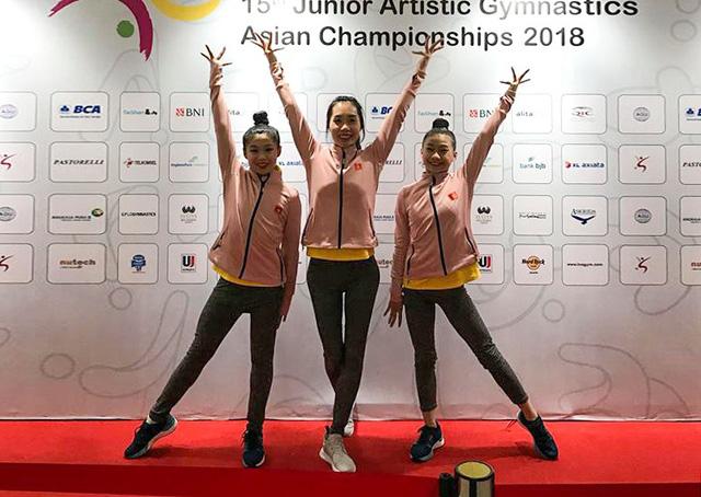 ĐT Thể dục dụng cụ Việt Nam giành suất dự Olympic trẻ 2018 - Ảnh 1.