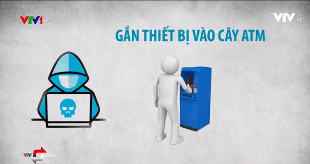 Các thủ đoạn trộm tiền từ thẻ ngân hàng: Từ giả danh, nhắn tin trúng thưởng đến hack cây ATM - Ảnh 2.