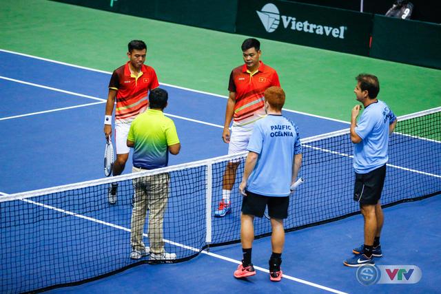 ĐT Việt Nam giành chiến thắng ngày ra quân Davis Cup 2018 - Ảnh 2.