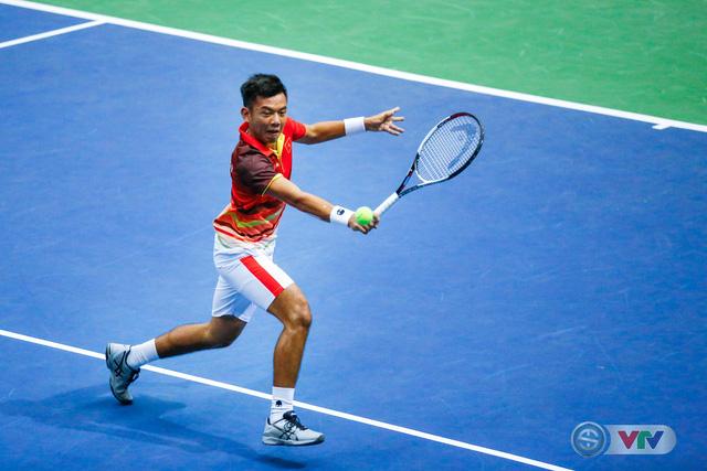 Davis Cup 2018: ĐT Việt Nam giành chiến thắng ngày ra quân - Ảnh 2.