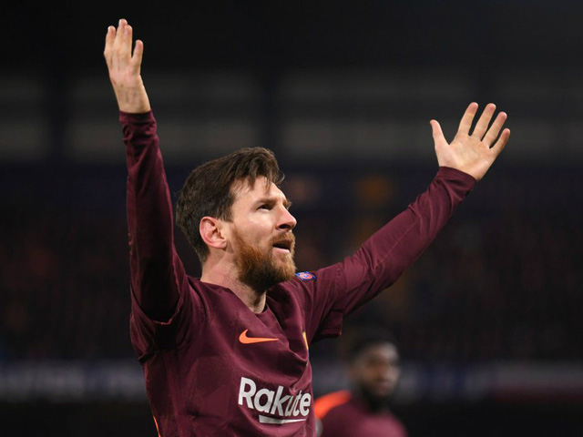 """Giày vàng châu Âu: Cuộc đua """"không cân sức"""" giữa Messi và Salah - Ảnh 1."""