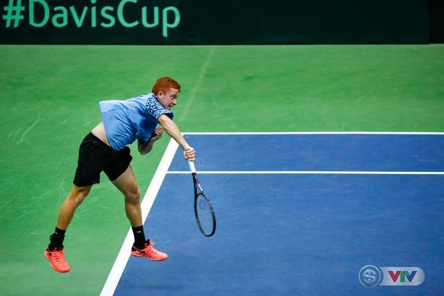 ẢNH: Lý Hoàng Nam ra quân thắng lợi tại Davis Cup - Ảnh 9.