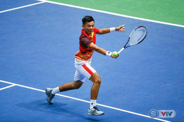 ẢNH: Lý Hoàng Nam ra quân thắng lợi tại Davis Cup - Ảnh 10.