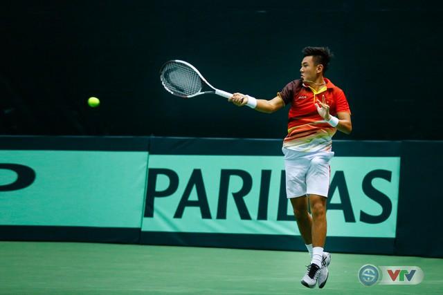 ẢNH: Lý Hoàng Nam ra quân thắng lợi tại Davis Cup - Ảnh 12.