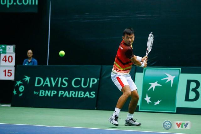 ẢNH: Lý Hoàng Nam ra quân thắng lợi tại Davis Cup - Ảnh 13.
