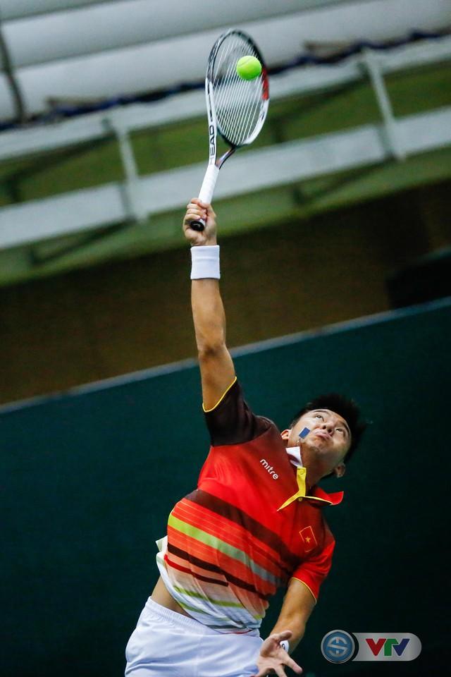 ẢNH: Lý Hoàng Nam ra quân thắng lợi tại Davis Cup - Ảnh 14.